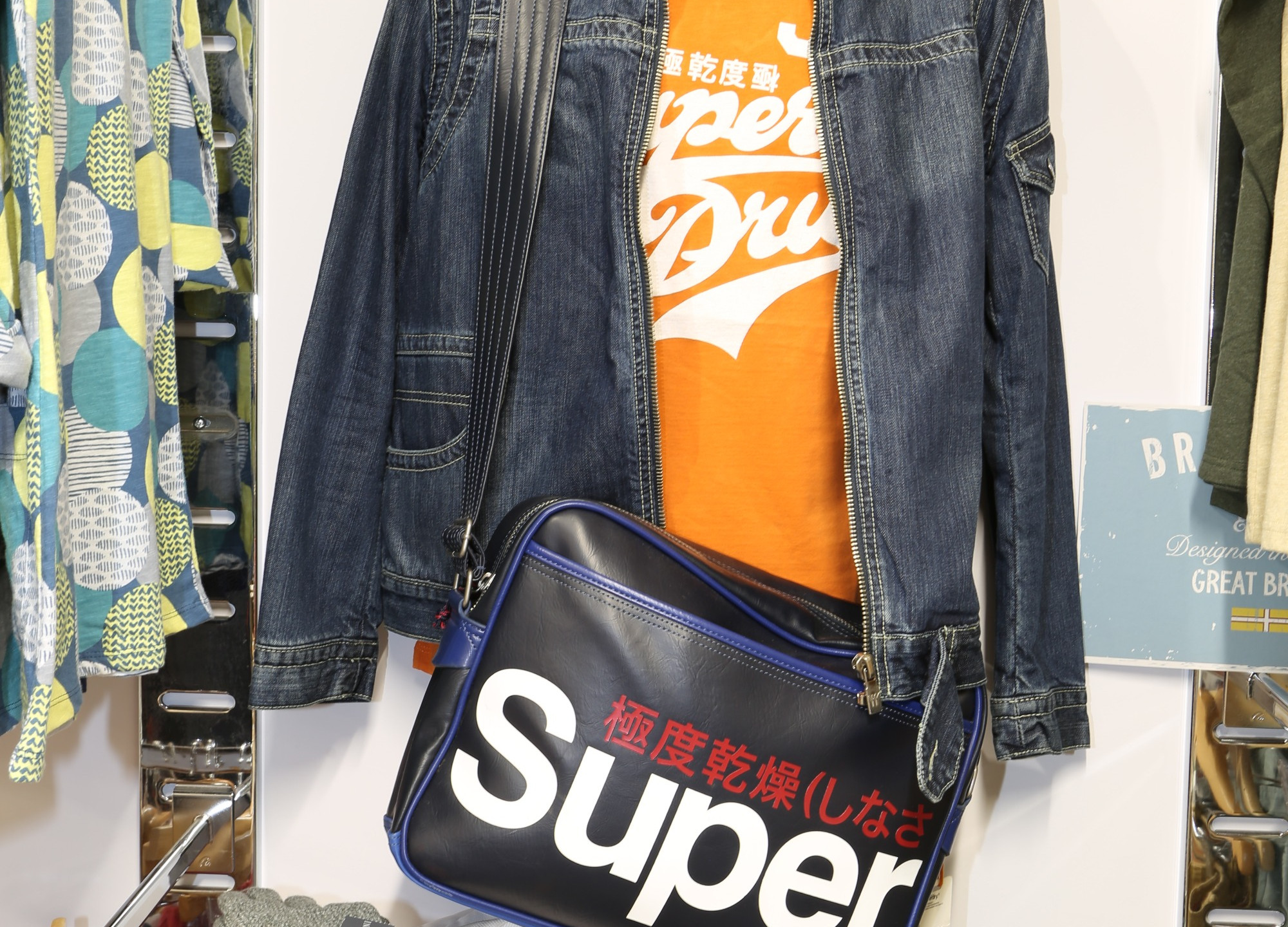 Super Dry Clothing Items