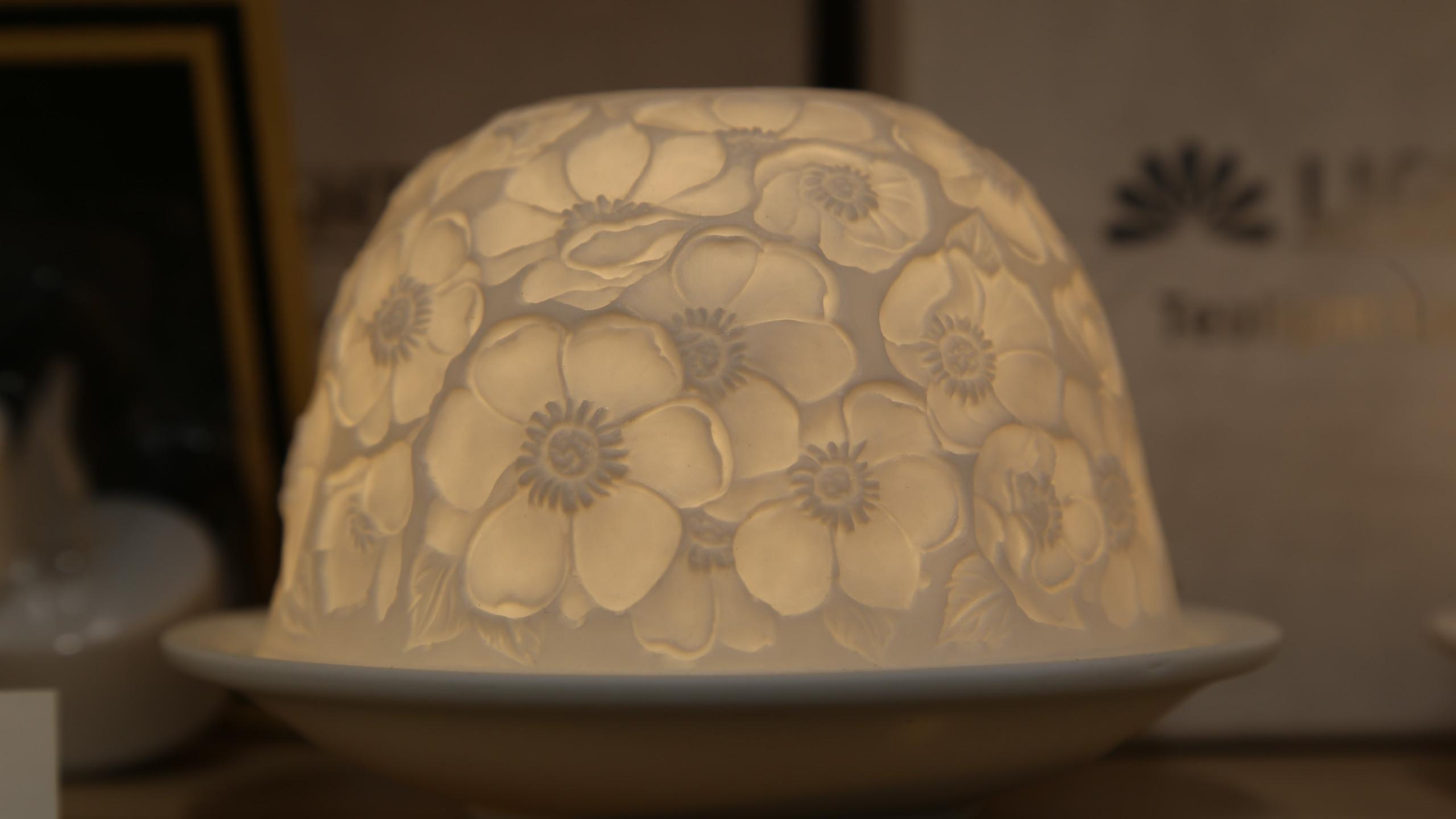 Flower Tea Light
