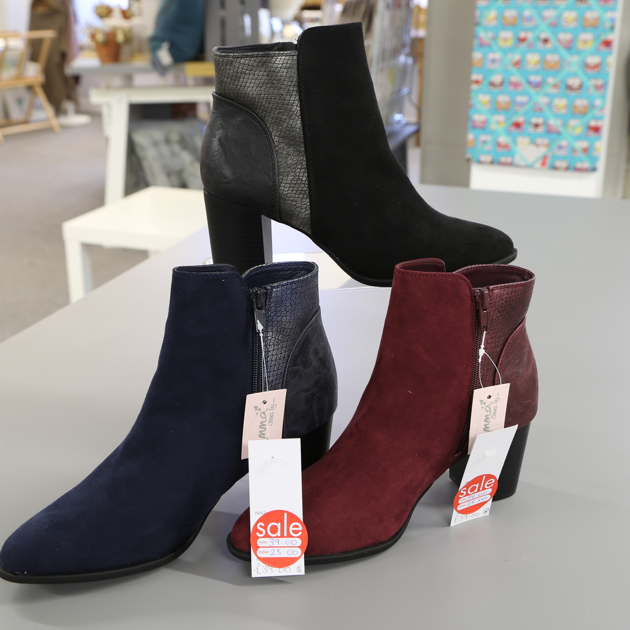 Boots from £39 to £25