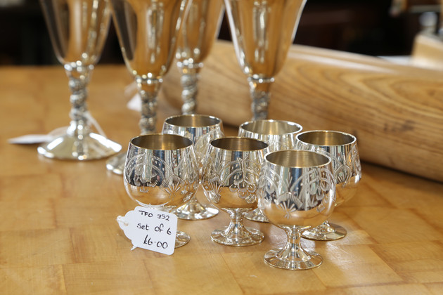 Six Drinking Glasses - £6
