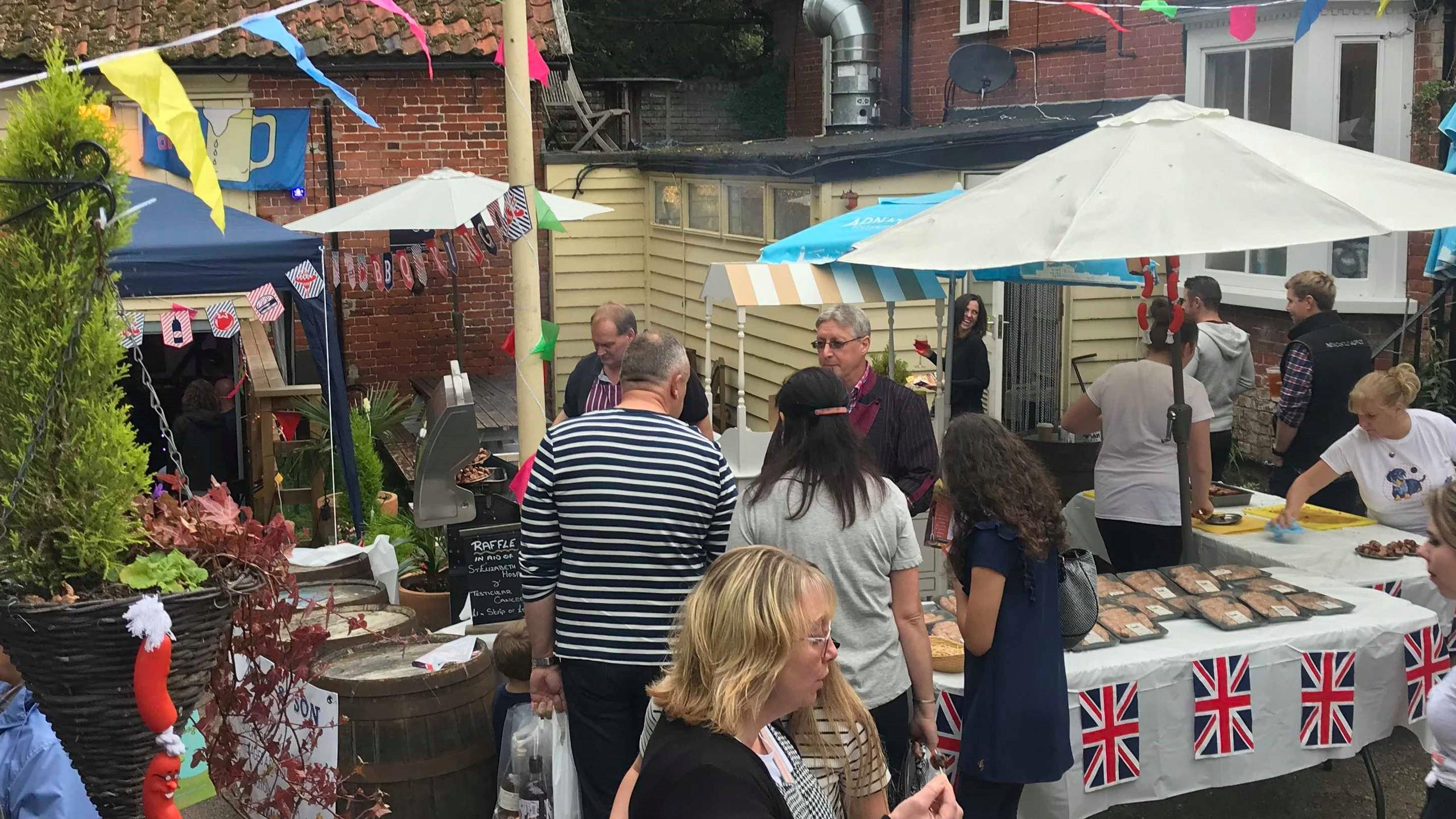 Popular at the Fram Sausage Festival