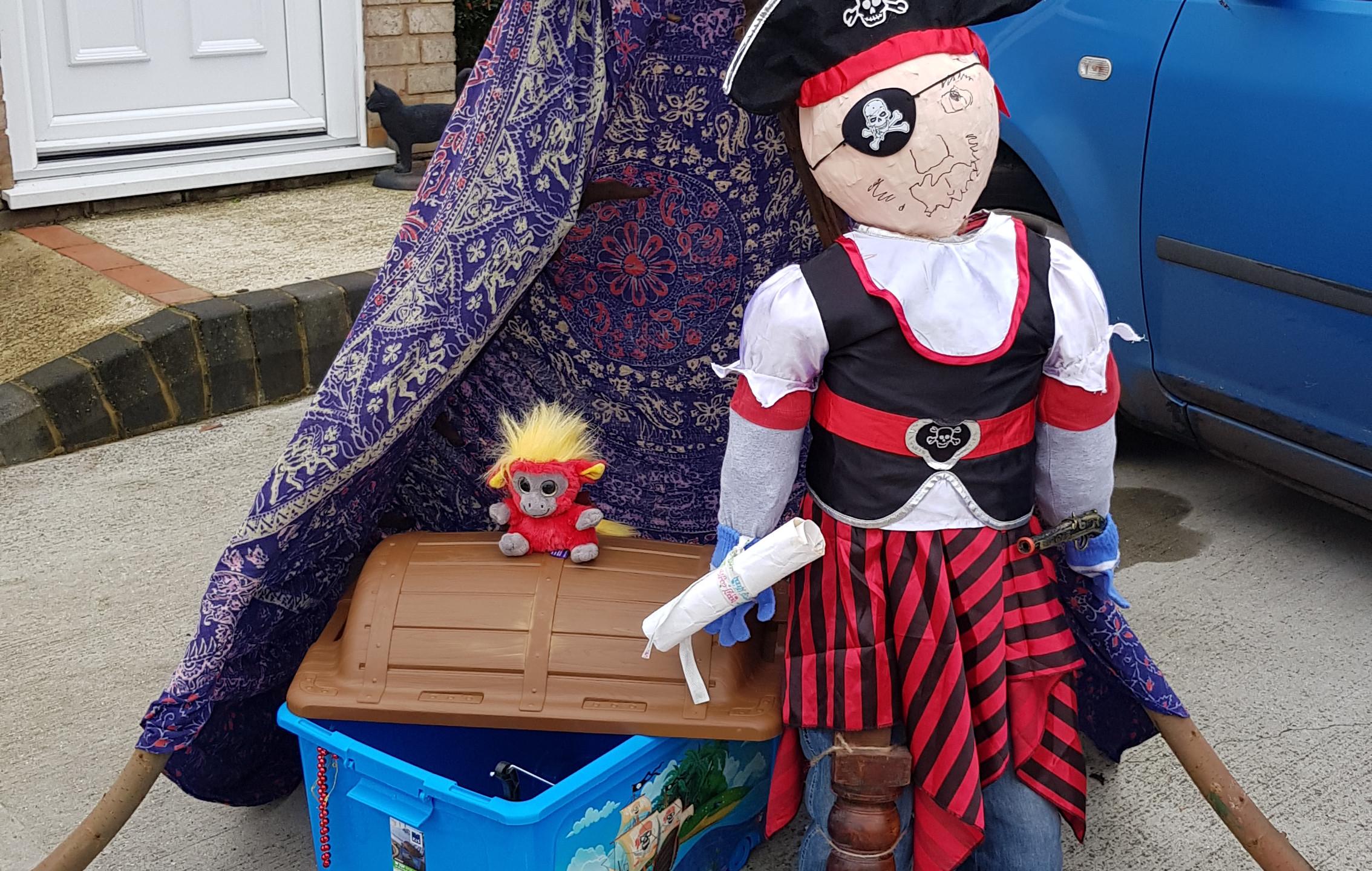 Wickham Market Scarecrows
