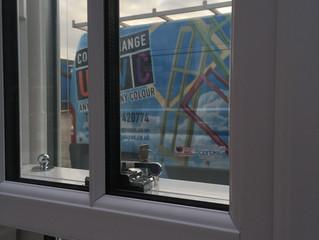 Window frames from Colourchange UPVC