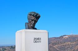 James Dean monument