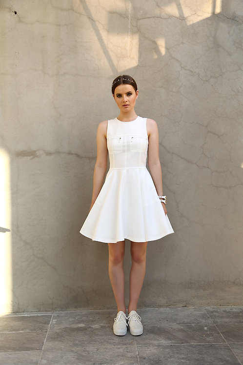 Kloş etekli elbise