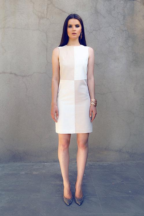 Damalı elbise