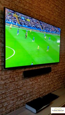"Techwood 65"" LED TV"