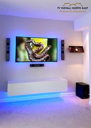 TV Install north east installer wall mount LED Plasma