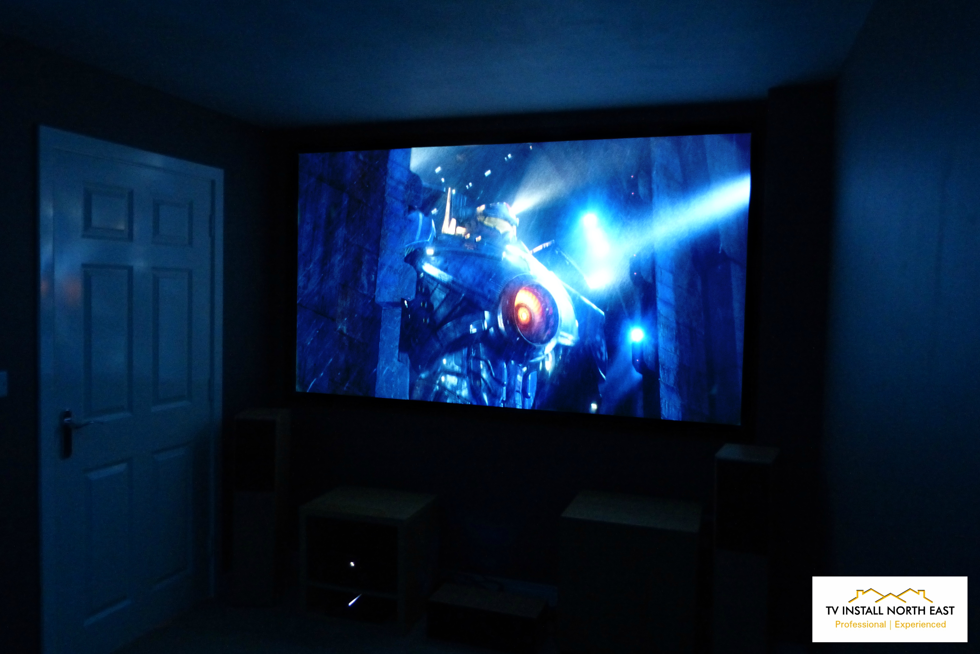 "100"" Fixed Frame Projector Screen"