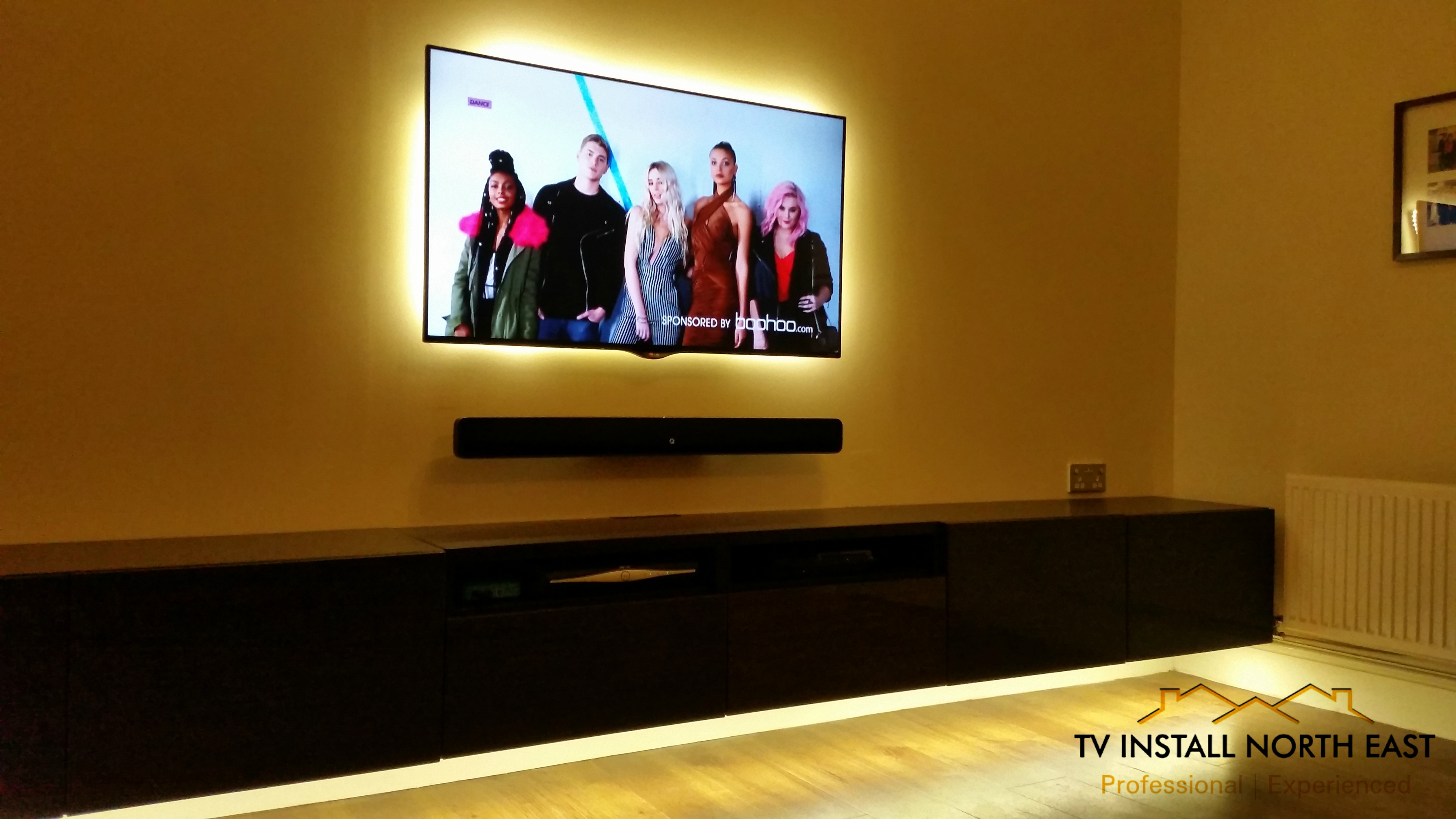 "LG 55"" LED TV with LED Backlighting"