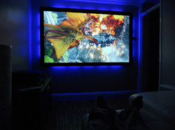 """90"""" Fixed screen with LED backlights"""
