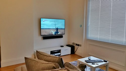 "Sony 55"" LED TV and Soundbar"