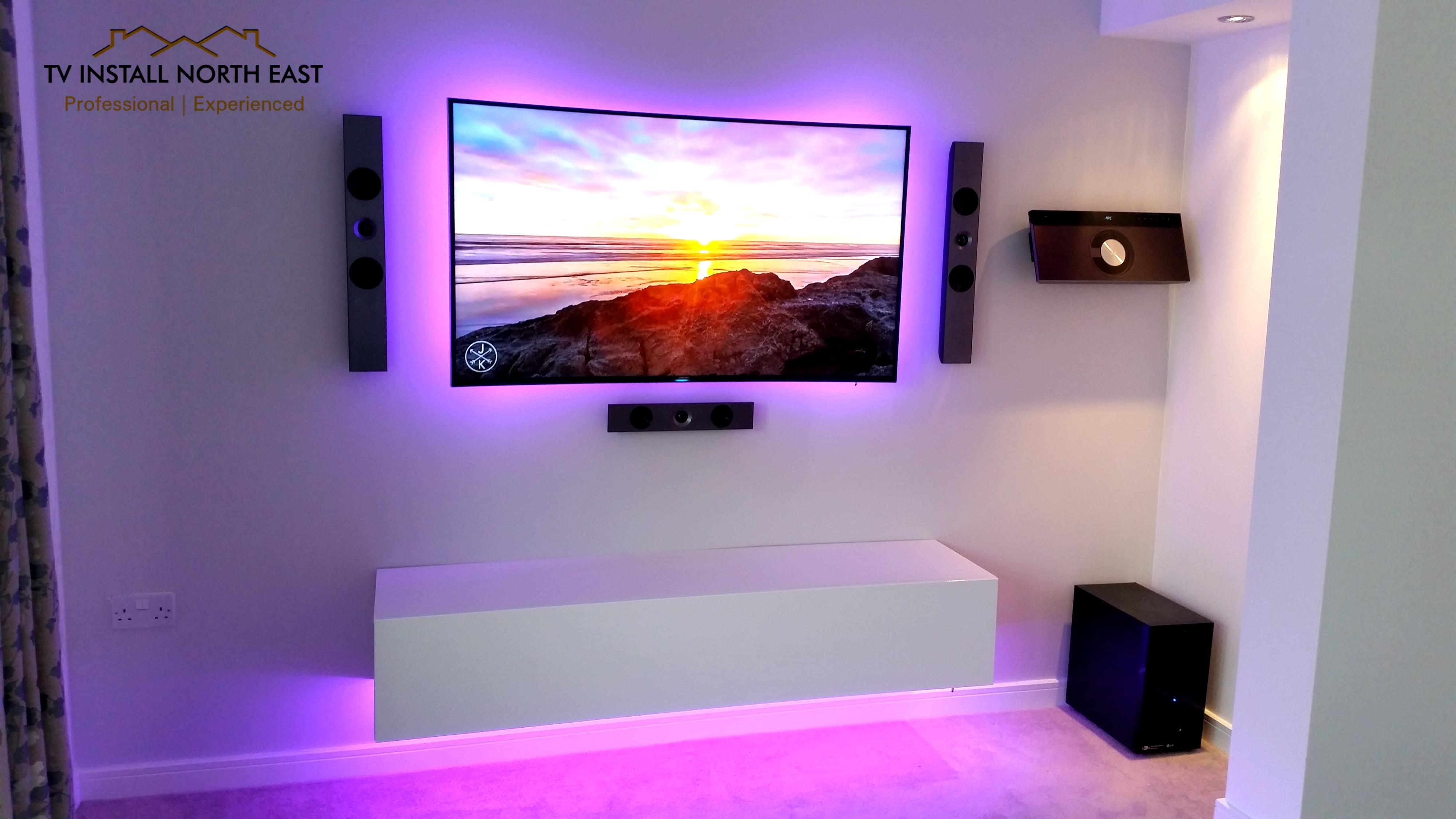 "Samsung 55"" Curved LED TV"