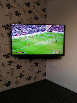 "LG 55"" LED TV with Soundbar"