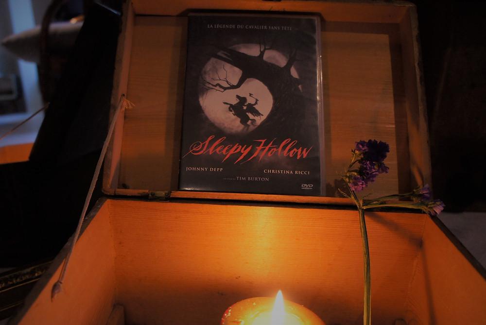 Le DVD Sleepy Hollow de Tim Burton.