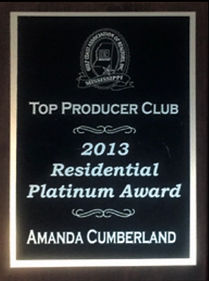 2013 Top Producer Club_ Residential Plat