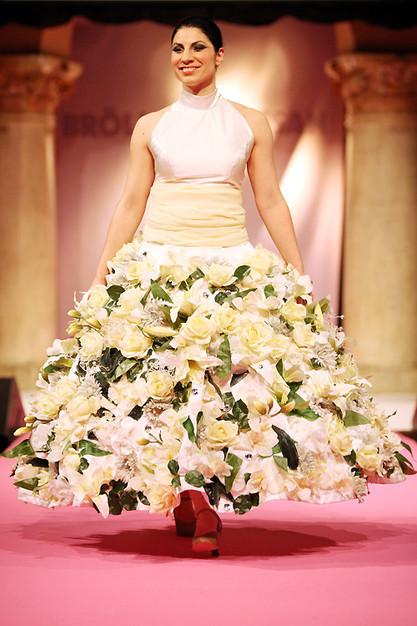 Bröllopsmässa 2012 blombrud