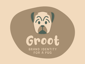 Groot • Brand Identity for a Pug