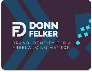 Donn Felker • Brand Identity for a Freelancing Mentor