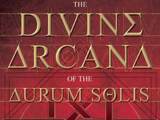"Foreword of the book ""Divine Arcana of the Aurum Solis"""