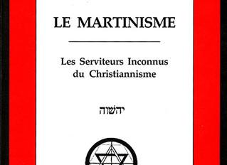 """Introduction du livre """"Le martinisme"""""""