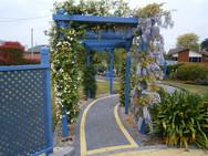 Vol memorial garden pathway.JPG