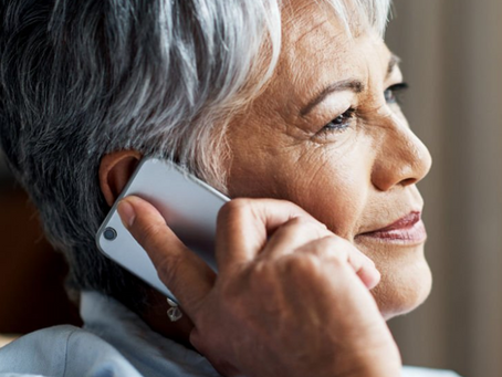 SUPPORT LINE FOR SENIORS NOW AVAILABLE