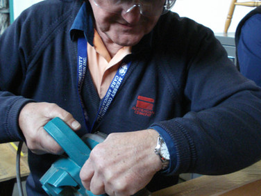 Volunteer Training with a Power Tool