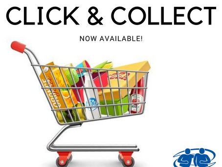 A FREE CLICK & COLLECT SERVICE IS AVALIABLE TO ASSIST VULNERABLE PEOPLE DURING LOCK DOWNS!