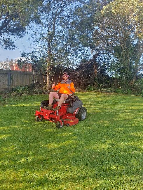Daniel mowing.jpg