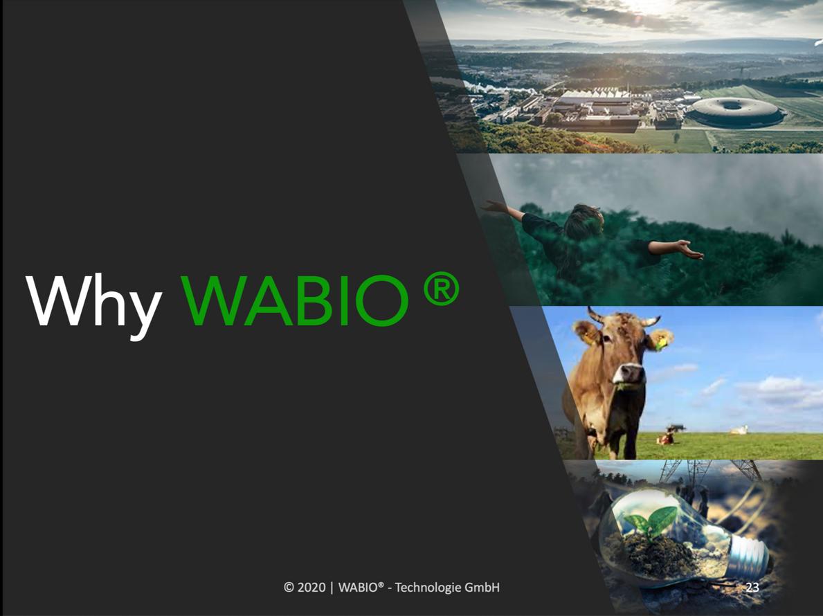 Yes, WABIO®!