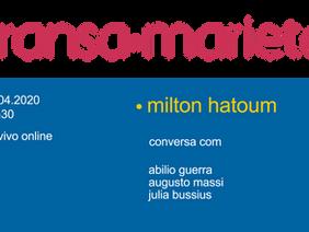 Transa Marieta #1 - Milton Hatoum