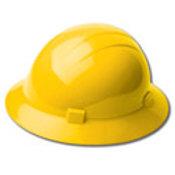 Yellow Americana Full Brim Ratchet Hat