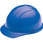 Blue Americana Ratchet Hard Hat