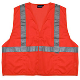 $13&up. Hook and Loop Closure.Orange Class 2 Vest.