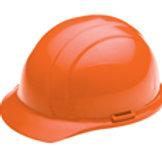 Orange Americana Ratchet Hard Hat