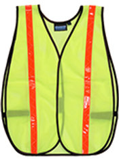 Lime. Non ANSI/ISEA Reflective vest.