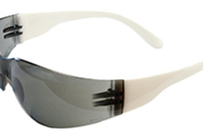 Dark gray anti-fog safety glasses. 17934