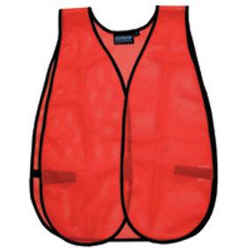 Non ANSI/ISEA Non Reflective vest. Orange