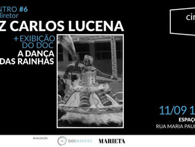 CineDocClube com Luiz Carlos Lucena