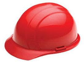 Red Americana Ratchet Hard Hat