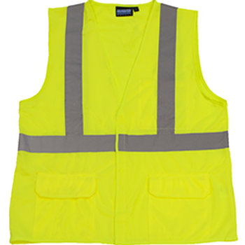 Non ANSI Lime Flame Resistant Vests
