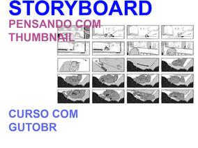 Curso: Storyboard - pensando com thumbnail - com GutoBR