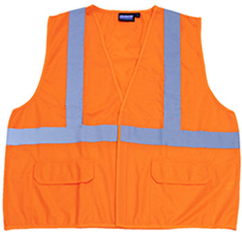Non ANSI Orange Flame Resistant Vests