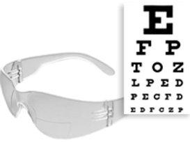 Bifocal. Clear.