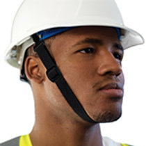 Chinstrap without chin guard