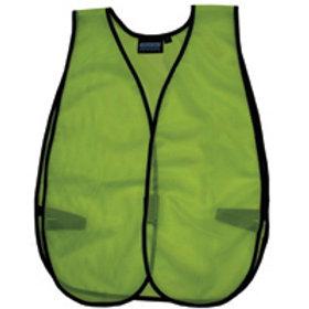 Non ANSI/ISEA Non Reflective vest. Lime.