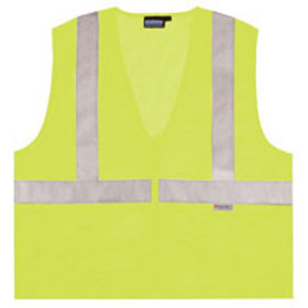 $14 and up. Zipper Front, Class 2 Vest Lime