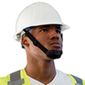 Chinstrap with chin guard