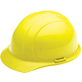 High Viz Yellow Americana Ratchet Hard Hat